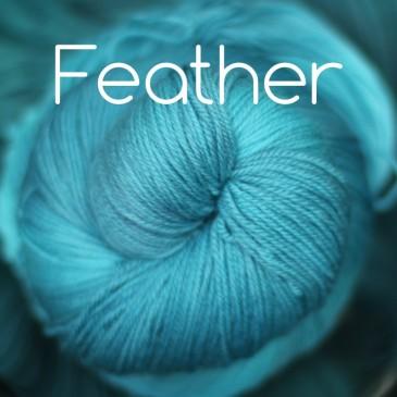 teal blue yarn