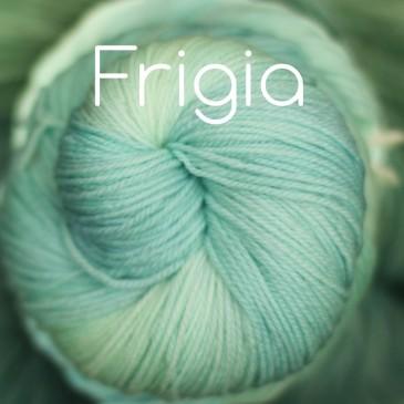 Ice blue yarn