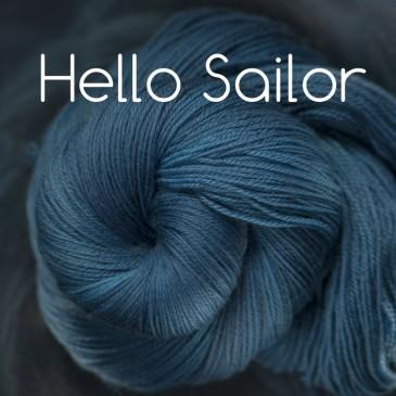 Navy Blue Yarn