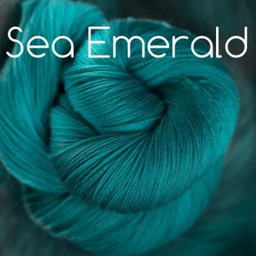teal green yarn