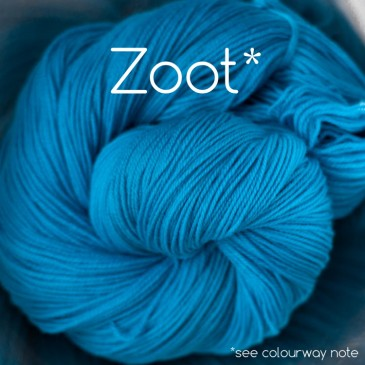 electric neon turquoise yarn