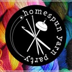 SpaceCadet Creations at Homespun Yarn Party on March 27