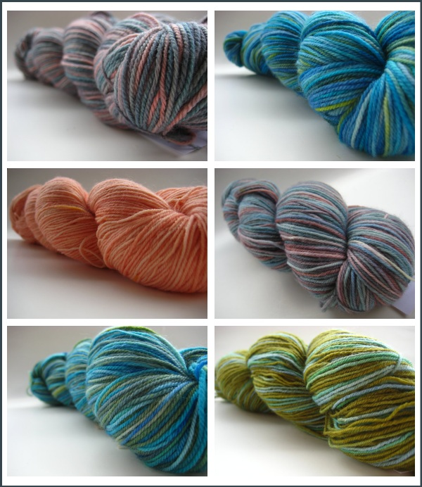 Shop Update of SpaceCadet Creations yarns for knitting and crochet
