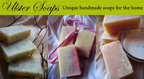 Ulster Soaps, handmade soaps by Leah LaFera