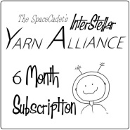 Click Here to grab a 6 Month Subscription to the SpaceCadet's InterStellar Yarn Alliance!