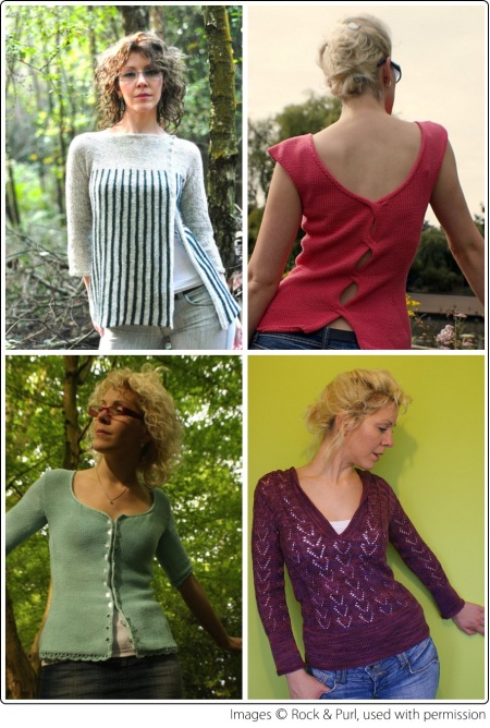 Knitting designs by Ruth Garcia-Alcantud of Rock & Purl