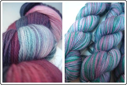 SpaceCadet Creations merino yarn for knitting and crochet