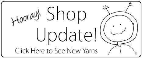 Click Here to see the Shop Update of new SpaceCadet Creations yarns for knitting and crochet