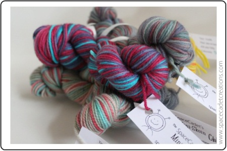 Win a SpaceCadet Mini-Skein bundle from Pittsburgh Knit and Crochet!