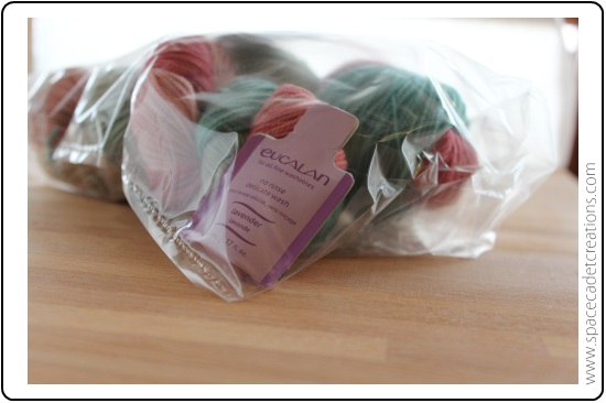 A little extra treat included in a parcel of SpaceCadet Creations yarn for knitting and crochet
