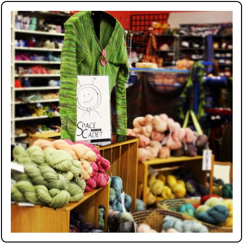 SpaceCadet Creations yarn trunk show at River Color Studios, Cleveland