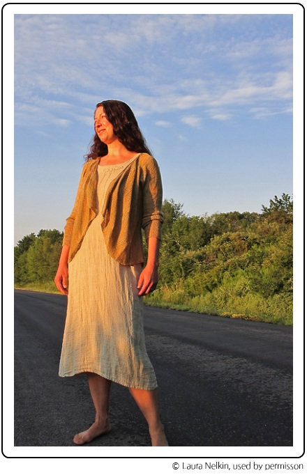 Laura Nelkin's Mythos cardigan