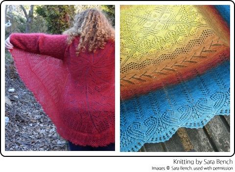 Sara Bench's amazing lace projects