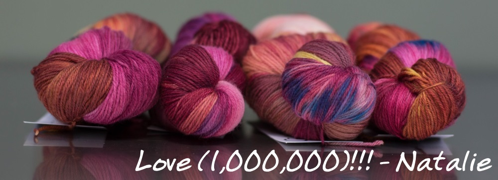 One Yarn Alliance colourway 2015