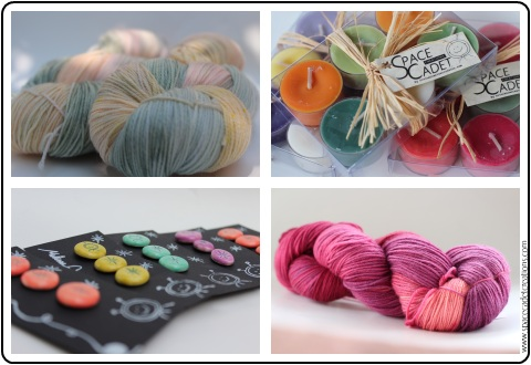 Exclusive colourways and fabulous gifts from the SpaceCadet's InterStellar Yarn Alliance yarn club