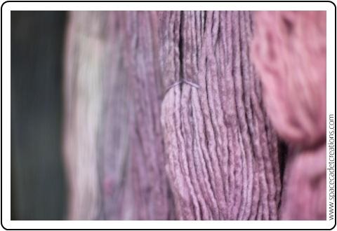 SpaceCadet Capella Single Ply yarn