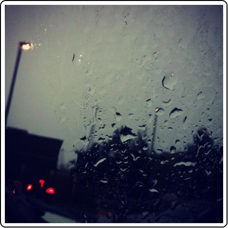 Rain on the SpaceCadet's journey to Rhinebeck!