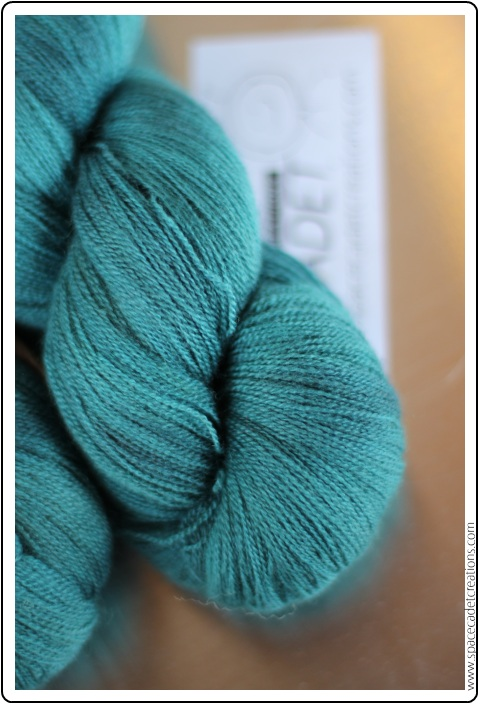 SpaceCadet Luna Laceweight in Feather