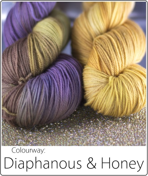 SpaceCadet Creations kit in Diaphanous&Honey for Laura Nelkin's Juego Mystery KAL