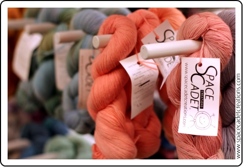 The SpaceCadet's Hand-dyed Yarns at the Pittsburgh Knit & Crochet Festival