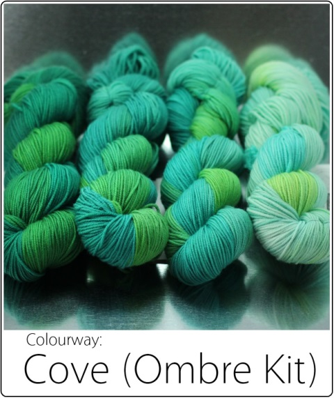 SpaceCadet Cove Ombre Yarn Kit