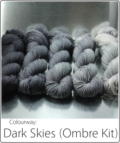 SpaceCadet Dark Skies Ombre Yarn Kit