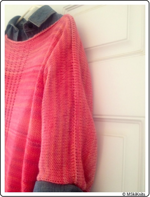 MSkiKnit's Pau Hana knit in a SpaceCadet Creations Ombre & Gradient Kit