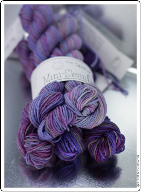 The SpaceCadet's new Ombre & Gradient Mini-Skein Club Parcels
