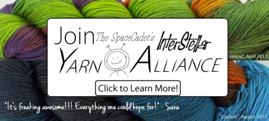 Click Here to Learn More about the SpaceCadet's InterStellar Yarn Alliance