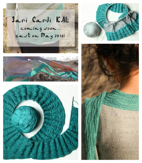 The SpaceCadet's kit for the Sari Cardi