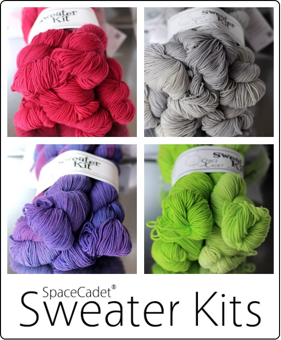 The SpaceCadet's Sweater Kits