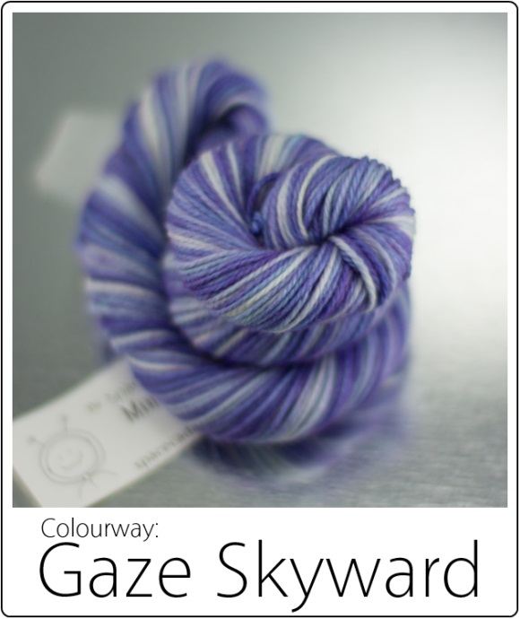SpaceCadet Yarn June Limited Editions: Gaze Skyward