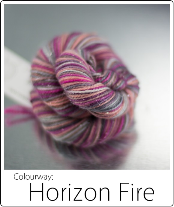SpaceCadet Yarn June Limited Editions: Horizon Fire