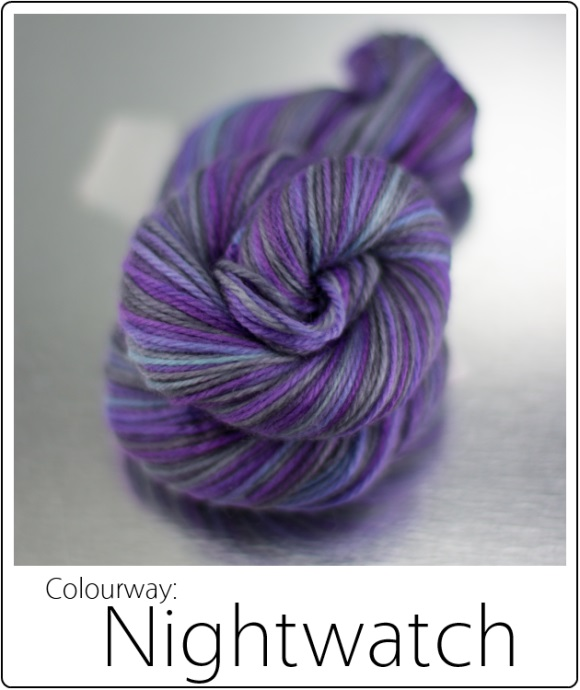 SpaceCadet Yarn June Limited Editions: Nightwatch