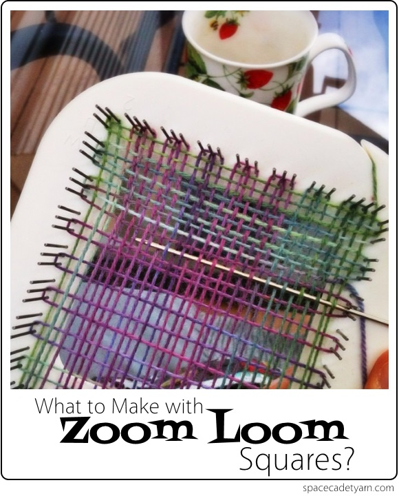 What to Make with Zoom Loom Squares -- Ideas from SpaceCadet