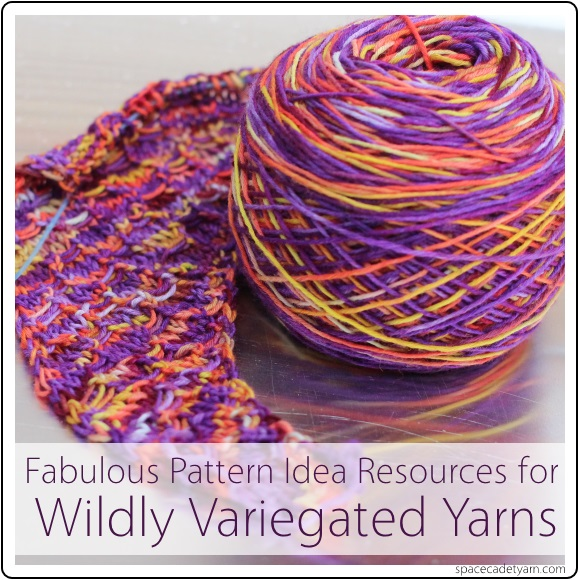 Variegated Yarn Patterns Knitting : Variegated Yarns: Fabulous Resources for Pattern Ideas - SpaceCadet Inc: Hand...