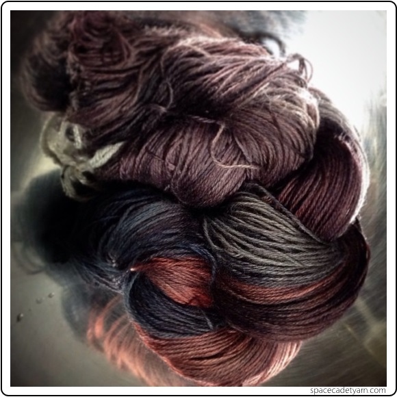 One of a Kind yarn from SpaceCadet