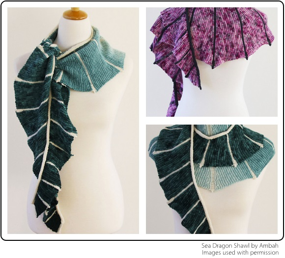 Sea Dragon Shawl by Ambah