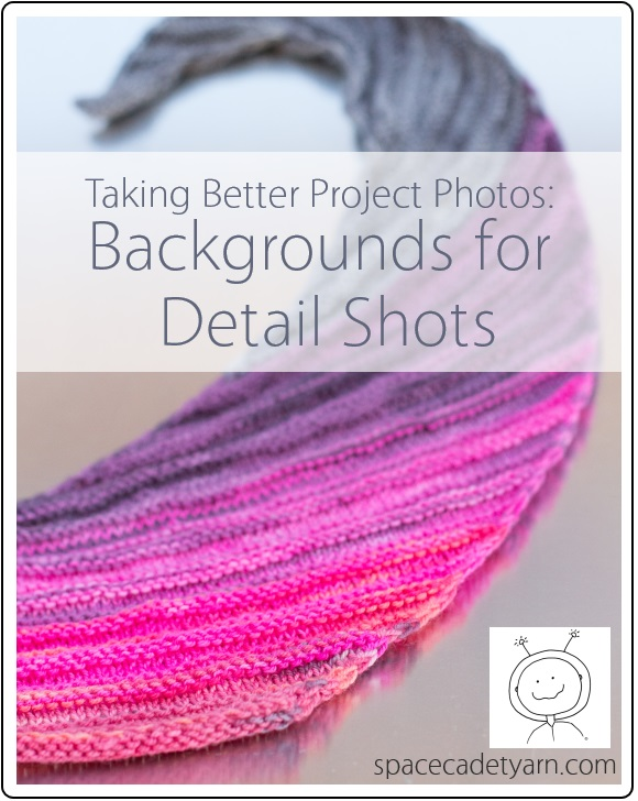 Take Better Project Photos - Backgrounds for Detail Shots