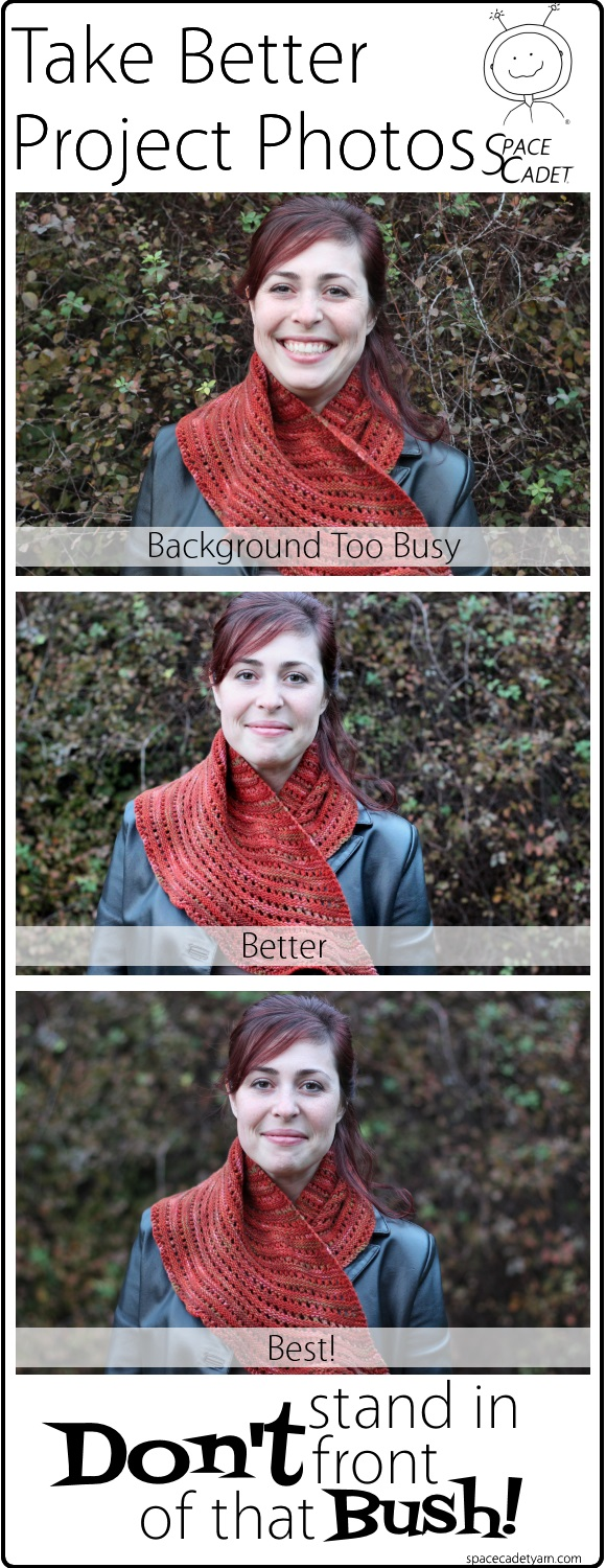 The SpaceCadet's Guide to Taking Better Project Photos - Don't Stand in Front of That Bush 1a