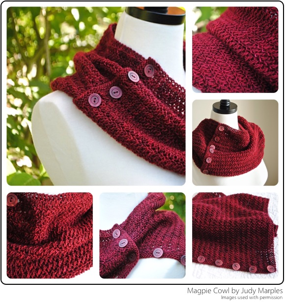 Magpie Cowl - Judy Marples