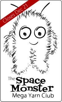SpaceMonster Mega Yarn Club closes on Dec 21