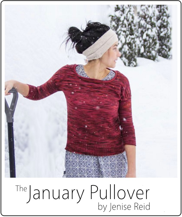 January Pullover by Jenise Reid 03