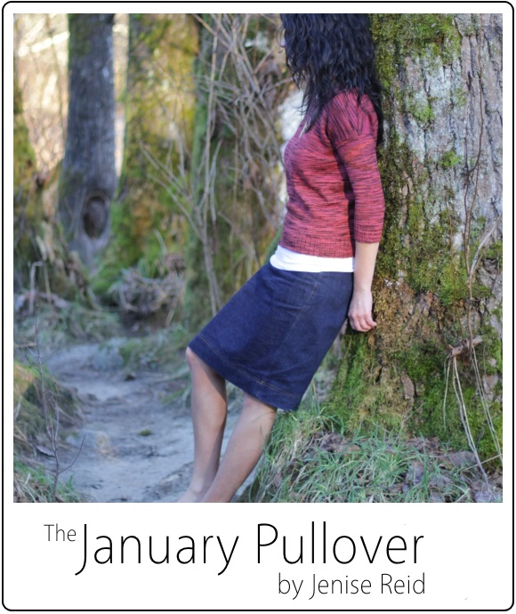 January Pullover by Jenise Reid 05