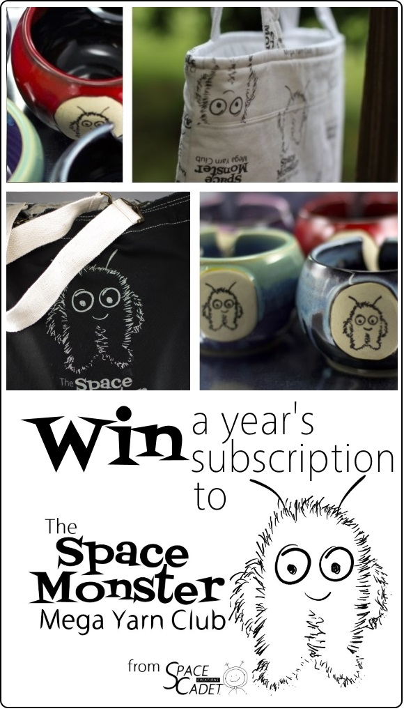 Win a Year's Membership to the SpaceMonster Mega Yarn Club from SpaceCadet 2