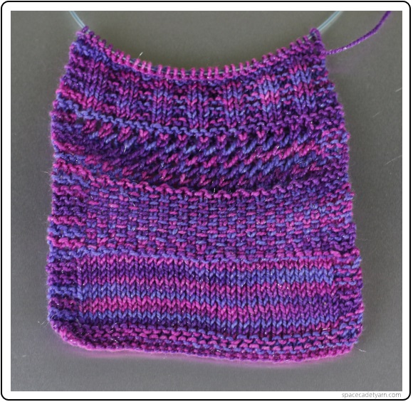Knitting Stitches Variegated Yarn Comsar For