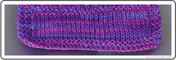 The Same Skein Knitted Up