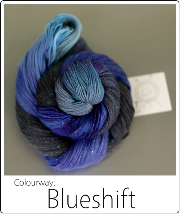 SpaceCadet's Limited Edition colourway Blueshift