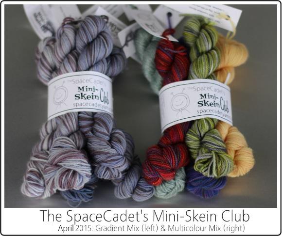 The SpaceCadet's Mini-Skein Club, April 2015