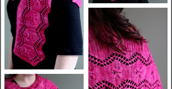 Two Beautiful Shawls — and a GIVEAWAY